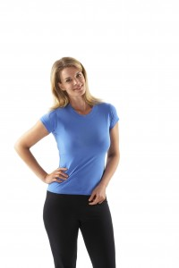 Cotton T Shirt Ladies Fitted