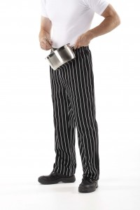 Striped Chefs Pants