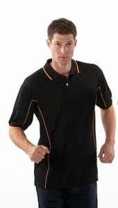 Polo Shirt With Piping